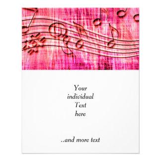 plus de rose de musique prospectus 11,4 cm x 14,2 cm