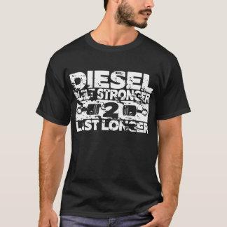 Plus fort construit t-shirt