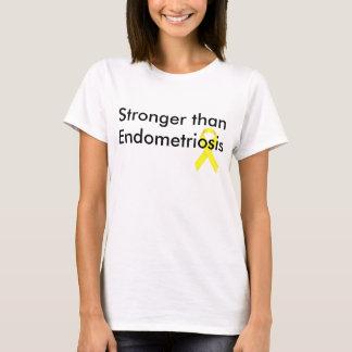 Plus fort que l'endométriose t-shirt