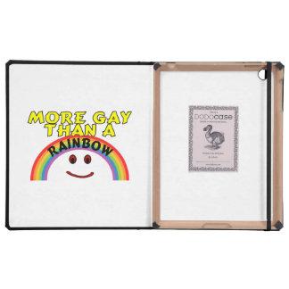 Plus gai qu'un arc-en-ciel étuis iPad