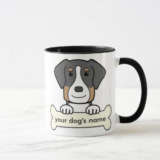 Plus grand chien suisse personnalisé de montagne mug