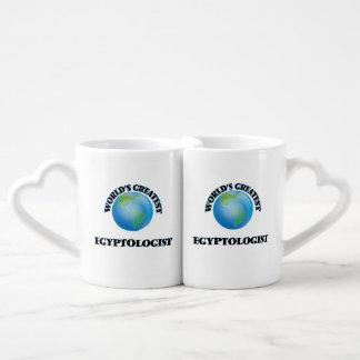 Plus grand Egyptologist du monde Set Mugs Duo