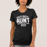 Plus grande tante personnalisable t-shirt