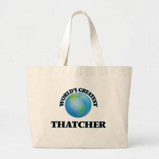 Plus grande Thatcher du monde Sac En Toile