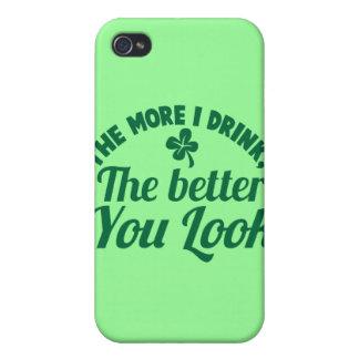 Plus je BOIS le meilleur vous REGARD iPhone 4 Case