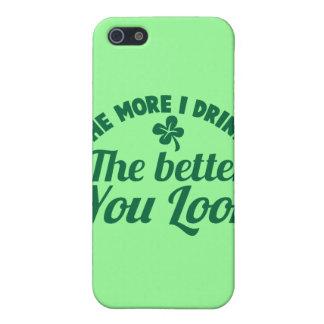 Plus je BOIS le meilleur vous REGARD iPhone 5 Case