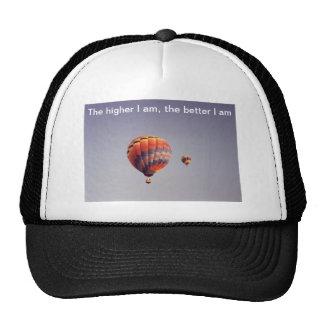 Plus je suis chapeau haut casquette