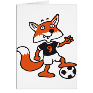 plus soccer fox carte de vœux