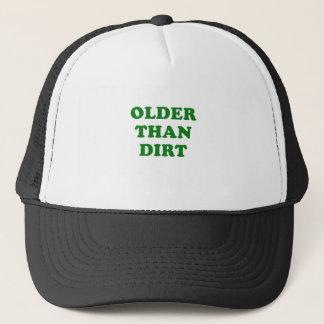 Plus vieux que la saleté casquette