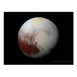 Pluton - les plus grandes cartes postales naines