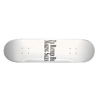Plutôt effectue des ventes skateoard personnalisé