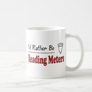 Plutôt lise des mètres mug