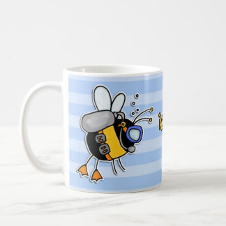 plutôt plongée d'abeille mug