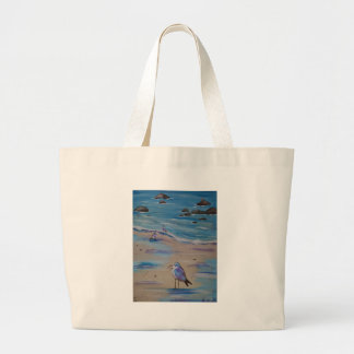 pluviers sifflants grand tote bag