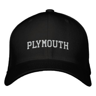 Plymouth Casquette Brodée