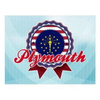 Plymouth, DEDANS Carte Postale