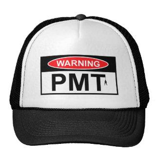 PMT de avertissement Casquettes
