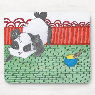 Pô, notre petit panda de Chine Tapis De Souris