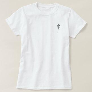 Poche avant du t des femmes de lampadaire t-shirt