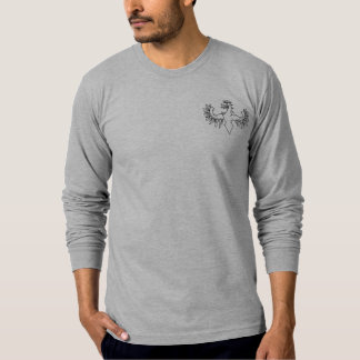 Poche de symbole de Niani Griffen de geai T-shirt