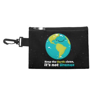 Pochette Avec Clip Maintenez la terre propre