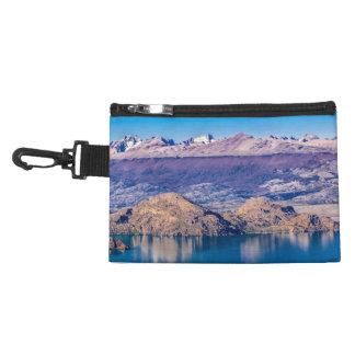 Pochette Avec Clip Paysage de lac et de montagnes, Patagonia, Chili