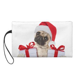 Pochette Avec Dragonne Cadeaux de carlin - chien Claus - carlins drôles -