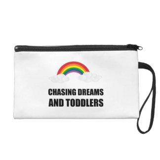 Pochette Avec Dragonne Chasse des rêves et des enfants en bas âge