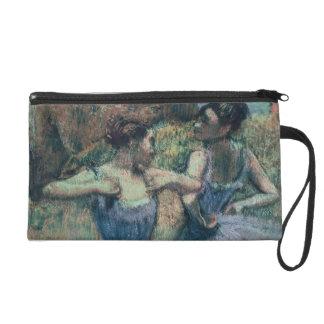 Pochette Avec Dragonne Danseurs d'Edgar Degas | dans la violette