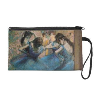 Pochette Avec Dragonne Danseurs d'Edgar Degas | dans le bleu, 1890
