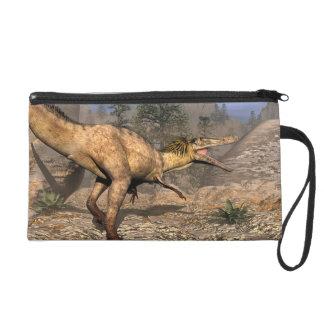 Pochette Avec Dragonne Dinosaure d'Austroraptor