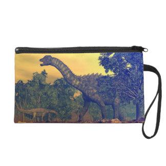Pochette Avec Dragonne Dinosaures d'Ampelosaurus