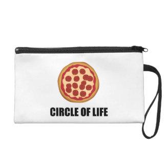 Pochette Avec Dragonne Le cercle de la pizza de la vie