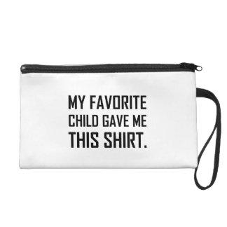 Pochette Avec Dragonne L'enfant préféré m'a donné cette chemise