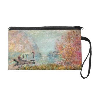 Pochette Avec Dragonne Studio de bateau de Claude Monet | sur la Seine
