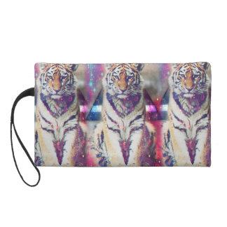 Pochette Avec Dragonne Tigre de hippie - art de tigre - tigre de triangle