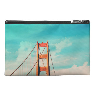 Pochette De Voyage Rétro SF golden gate bridge Zippered la poche