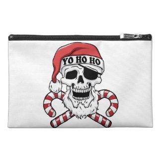 Pochette De Voyage Yo ho ho - pirate père Noël - le père noël drôle