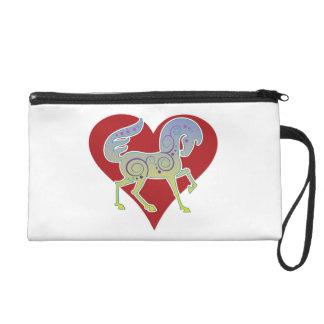 Pochettes Avec Dragonne Bracelet 2017 de coeur de Fourre-tout Runequine de