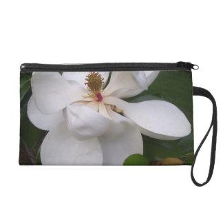 Pochettes Avec Dragonne Bracelet - Mini-Bourse - fleurs de magnolia du sud