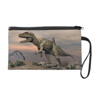 Pochettes Avec Dragonne Dinosaure de Concavenator dans le désert