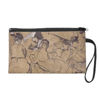Pochettes Avec Dragonne Edgar Degas | douze études des femmes dans le