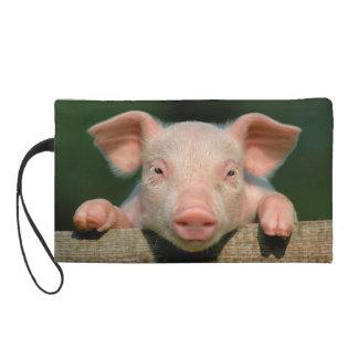 Pochettes Avec Dragonne Ferme de porc - visage de porc