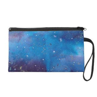 Pochettes Avec Dragonne Galaxie bleu-foncé