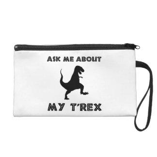 Pochettes Avec Dragonne Interrogez-moi au sujet de T Rex drôle