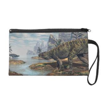 Pochettes Avec Dragonne Les dinosaures -3D de Batrachotomus rendent
