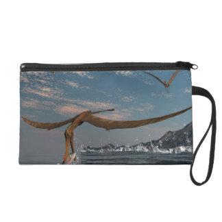 Pochettes Avec Dragonne Pêche préhistorique d'oiseau d'Anhanguera