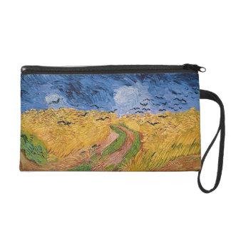 Pochettes Avec Dragonne Wheatfield de Vincent van Gogh | avec des