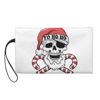 Pochettes Avec Dragonne Yo ho ho - pirate père Noël - le père noël drôle