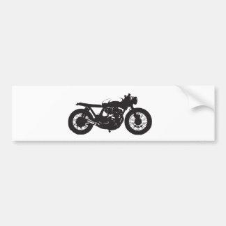 Pochoir de cool de cru de moto de coureur/gosse de autocollant pour voiture